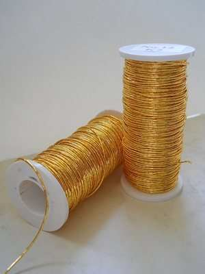 Goldwork Japanese thread No12 K2, gold colour