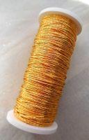 Japanese thread No9, gold colour - 2 x 2m
