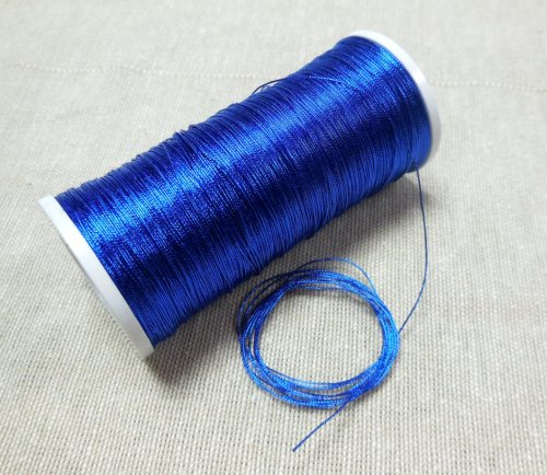 371 thread, Bright blue colour