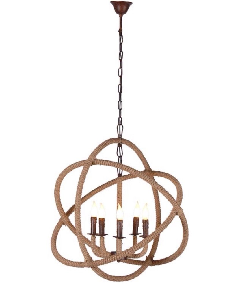 Iron & Rope Chandelier Code VZ006