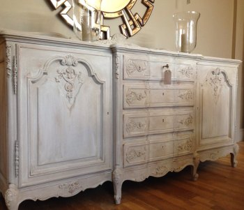 Stunning Vintage French Oak Buffet Sideboard Code Newarkbb