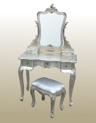 Antique Silver Dressing Table set