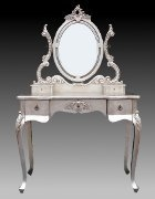 Antique Silver Dressing Table