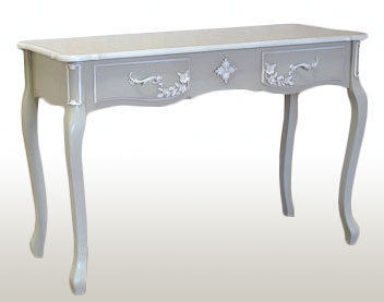 French Grey Console/ Dressing Table