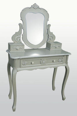 French Grey Dressing Table