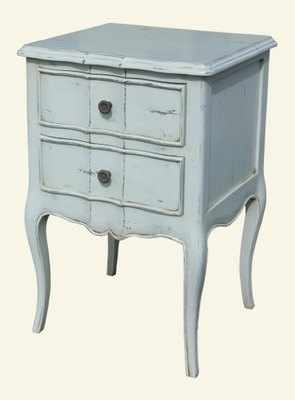 Louis Style painted Bedside Table