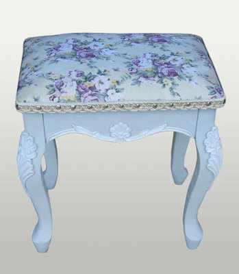 French Grey Stool