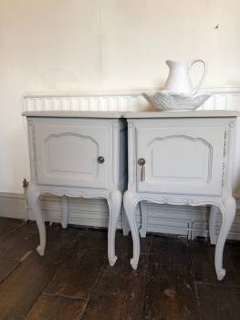 Pair of French Louise XV bedsides
