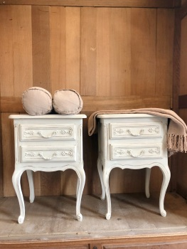 Pair of French Bedside tables