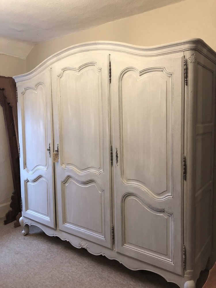 3 door french Louis XV armoire