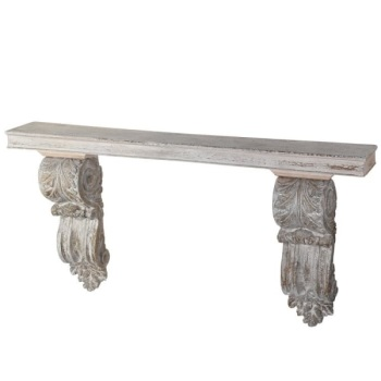 Wall console corbel table / shelf
