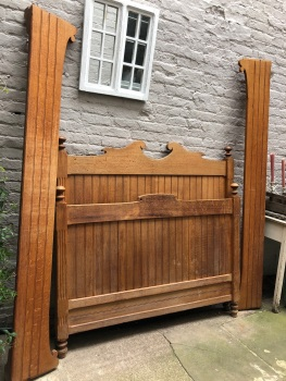 Double French bed - can be painted