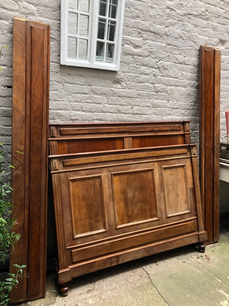 Small double French bed - can be painted