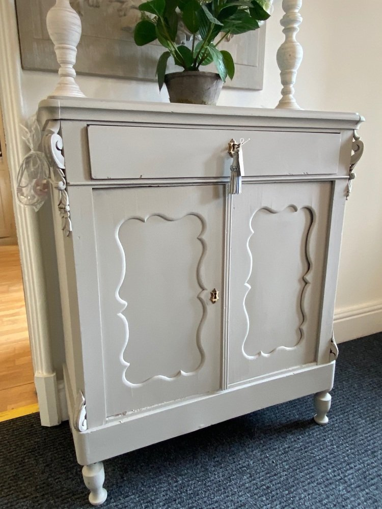 Painted European cabinet