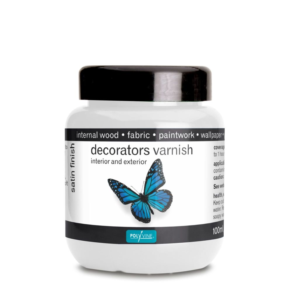 Tester 100ml Decorators varnish