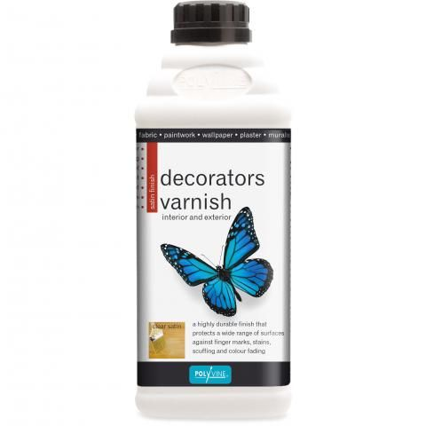 Large decorators varnish
