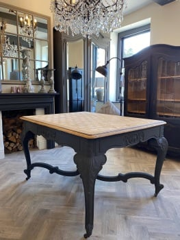 Antique Oak Painted Dining / Hall table