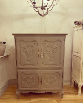 French Louis xv tv cabinet - linen cupboard