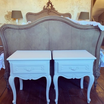 Pair of french bedside table
