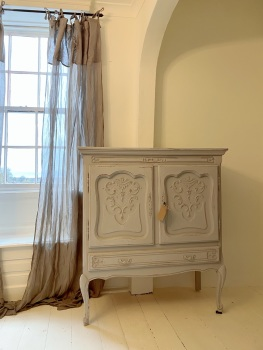 French painted Louis xv cabinet
