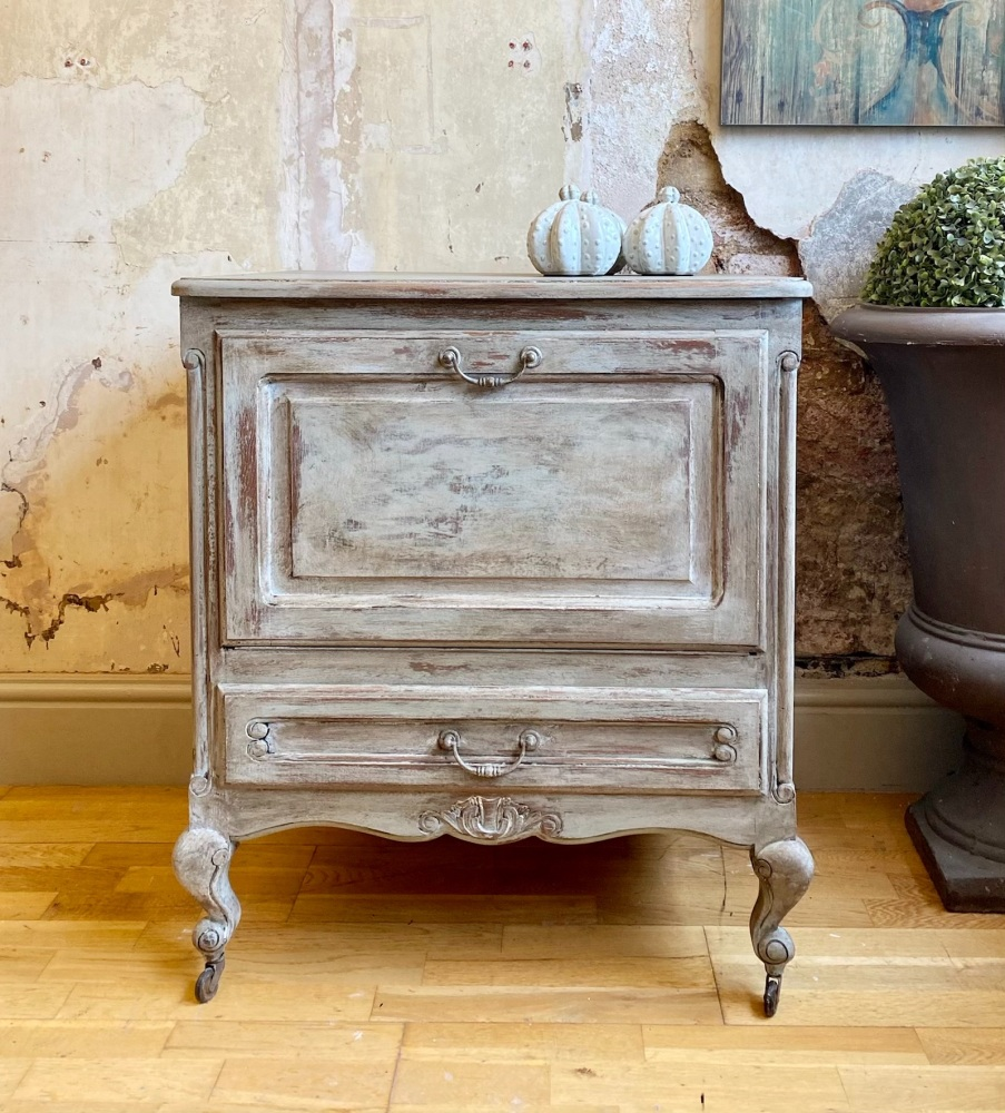 French Louis pull front cabinet