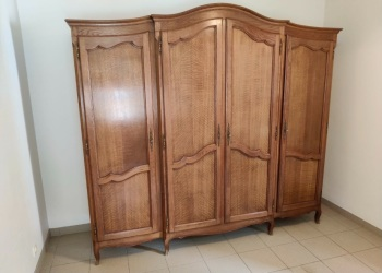 4 Door Oak Armoire wardrobe