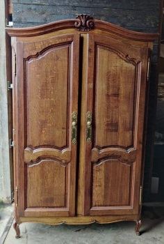 French Double Armoire - wardrobe