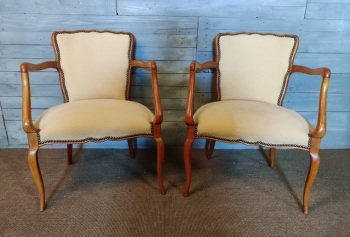 Matching pair French Chairs