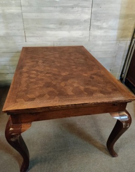 Parquet French dining Table