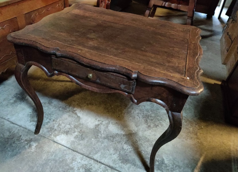 French Kitchen Table Oak