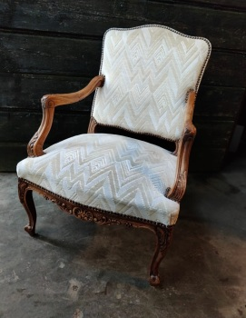 Large French Louis XV Armchair