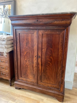Antique French Cupboard with marble top