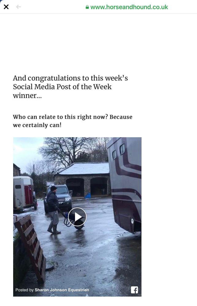 H&H Social Media Winner