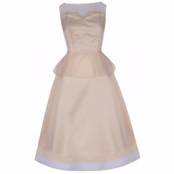 Lindy Bop 'Madison' Champagne Prom Bridesmaid Party Dress