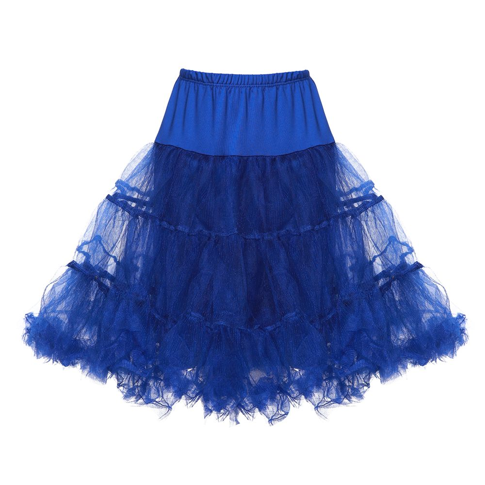 LINDY BOP CHILDRENS Royal Blue Petticoat / Underskirt for use with Children