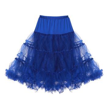 LINDY BOP CHILDRENS Royal Blue Petticoat / Underskirt for use with Children's Mini Lindy Bop Dresses, to give volume & a flash of colour