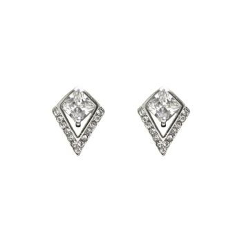 Collectif Art Deco Diamante Earrings