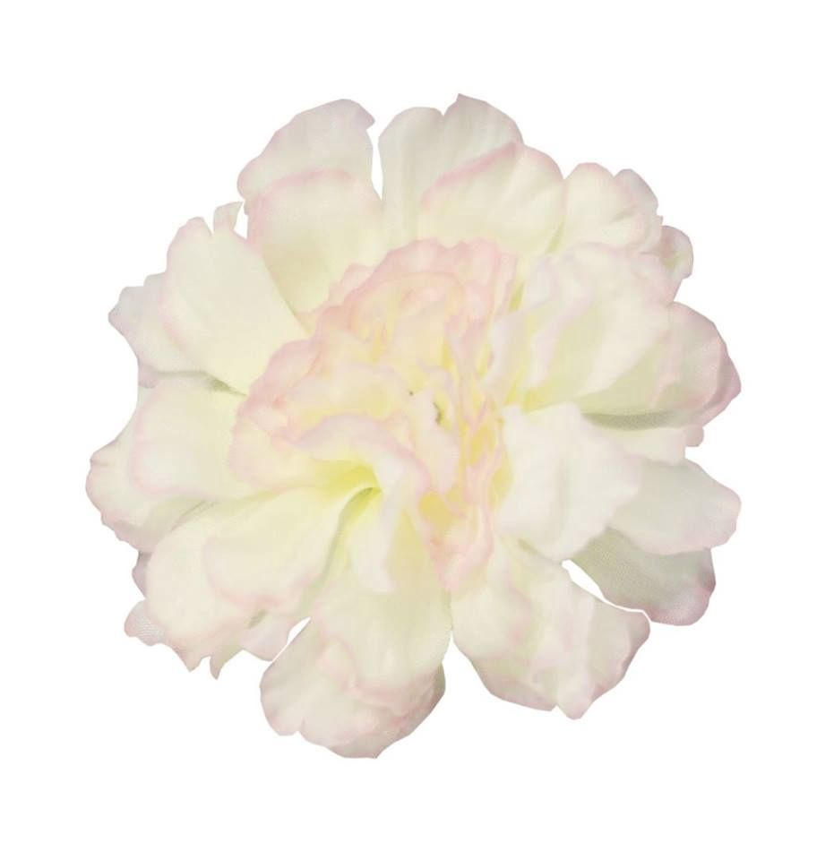 COLLECTIF ACCESSORIES SUMMER CARNATION HAIR CLIP WHITE