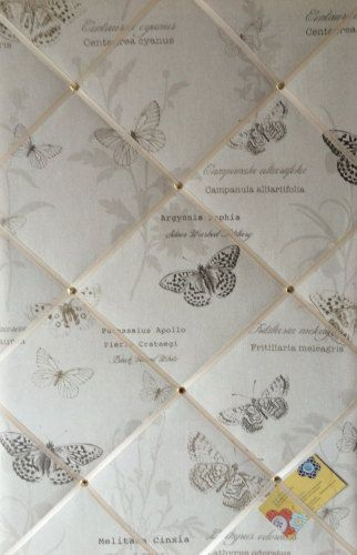 Large 60x40cm Fryetts Papillion Harvest Butterfly Hand Crafted Fabric Memor