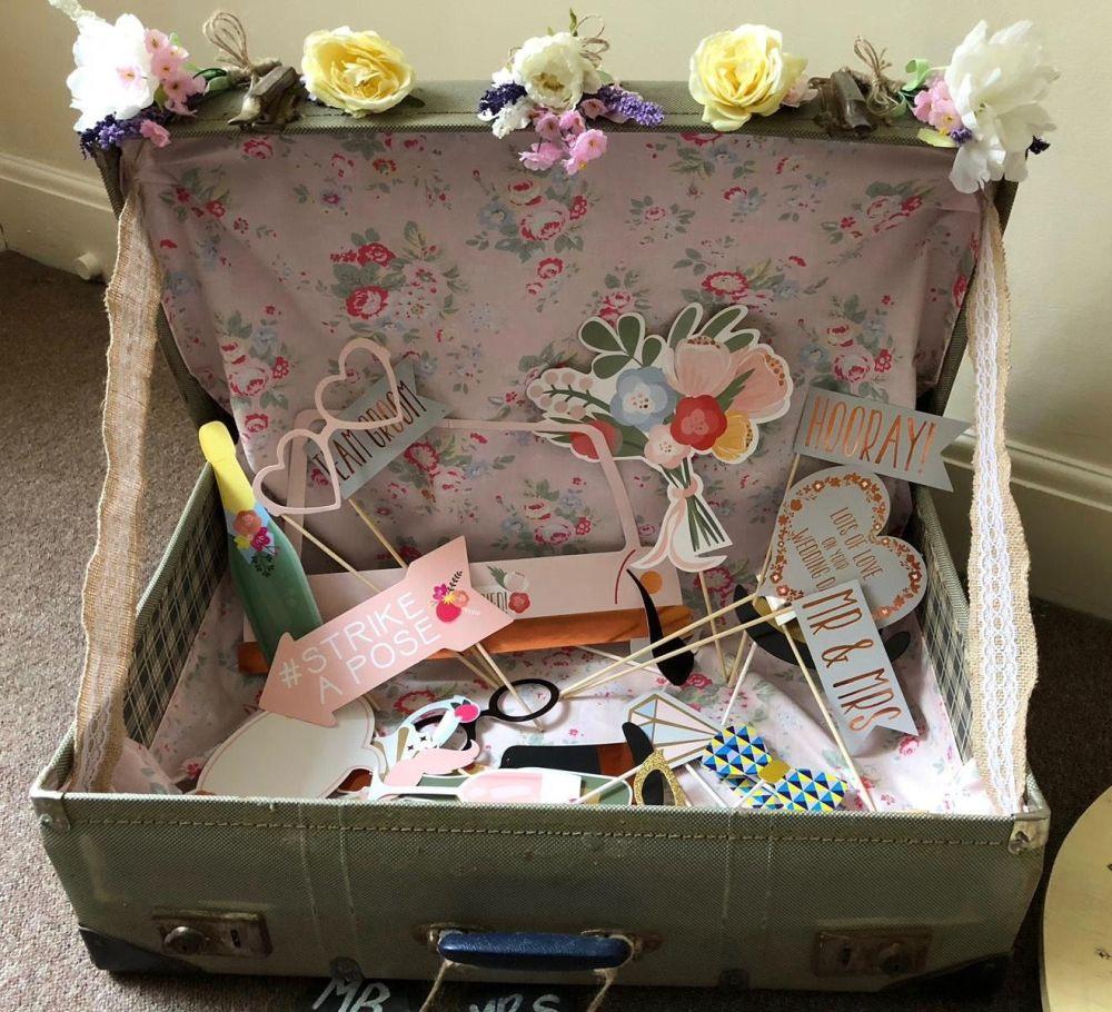 Vintage Suitcase Hire