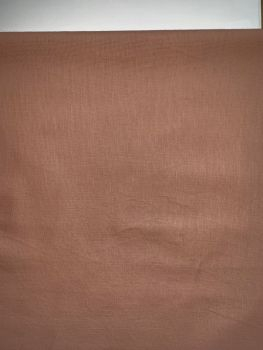 Plain Pink Cotton Mix Fabric By The Metre