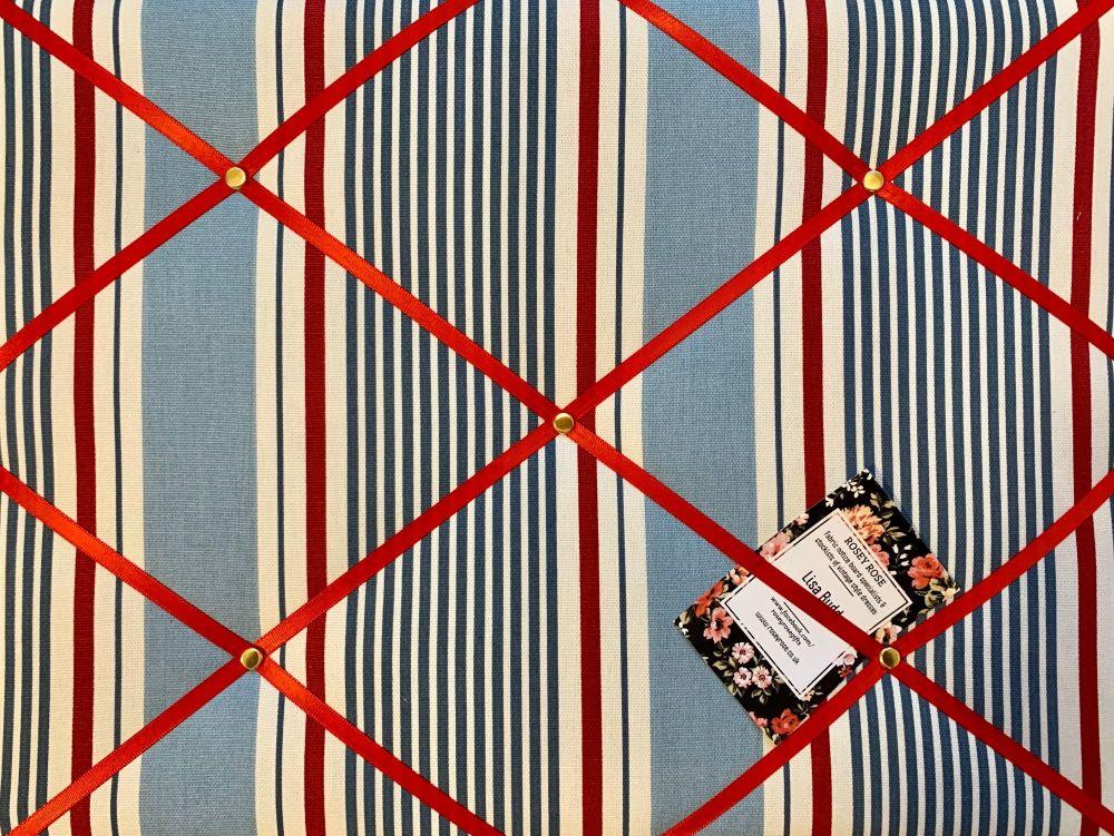 Custom Handmade Bespoke Fabric Pin Memo Notice Photo Cork Memo Board Clarke