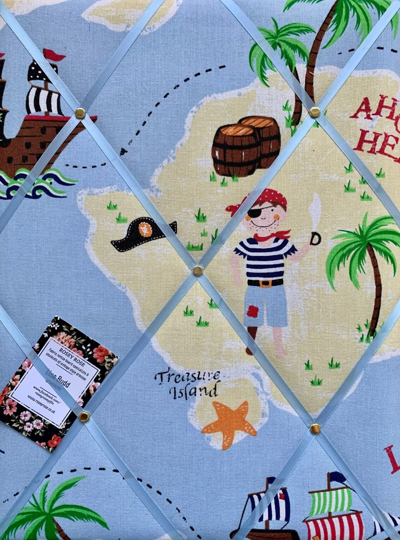 Custom Handmade Bespoke Fabric Pin Memo Notice Photo Cork Memo Board With L