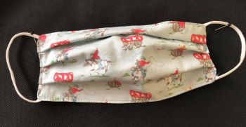 Adult's Handcrafted Reusable Washable Fabric Face Mask Covering Raising Money For Mind Cath Kidston Blue Mini Cowboy & Blue Spot