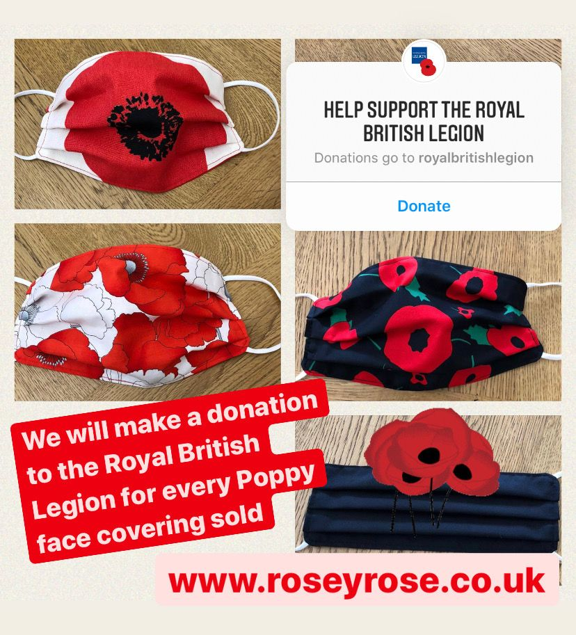 Poppy Appeal for The Royal British Legion