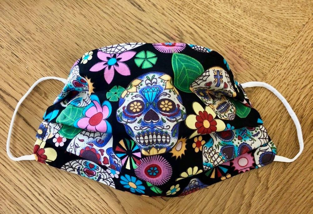Adult's or Kid's Handcrafted Reusable Washable Fabric Face Mask Covering Ra