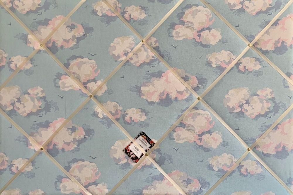 Custom Handmade Bespoke Fabric Pin / Memo / Notice / Photo Cork Memo Board