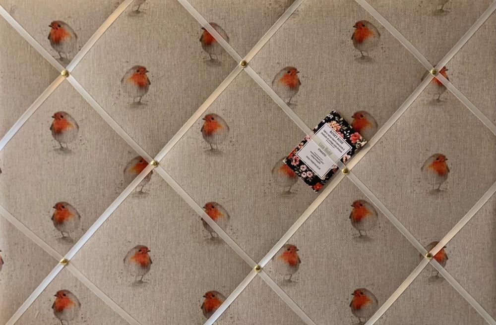 Custom Handmade Bespoke Fabric Pin / Memo / Notice / Photo Cork /Memo Board