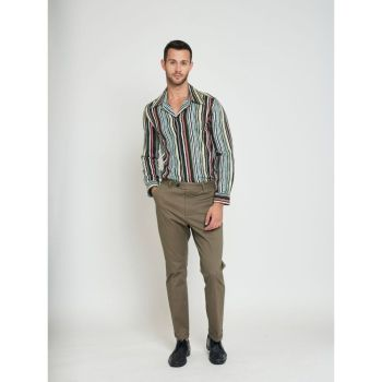 COLLECTIF Menswear Jack Smart Tailored Men's Chinos Brown