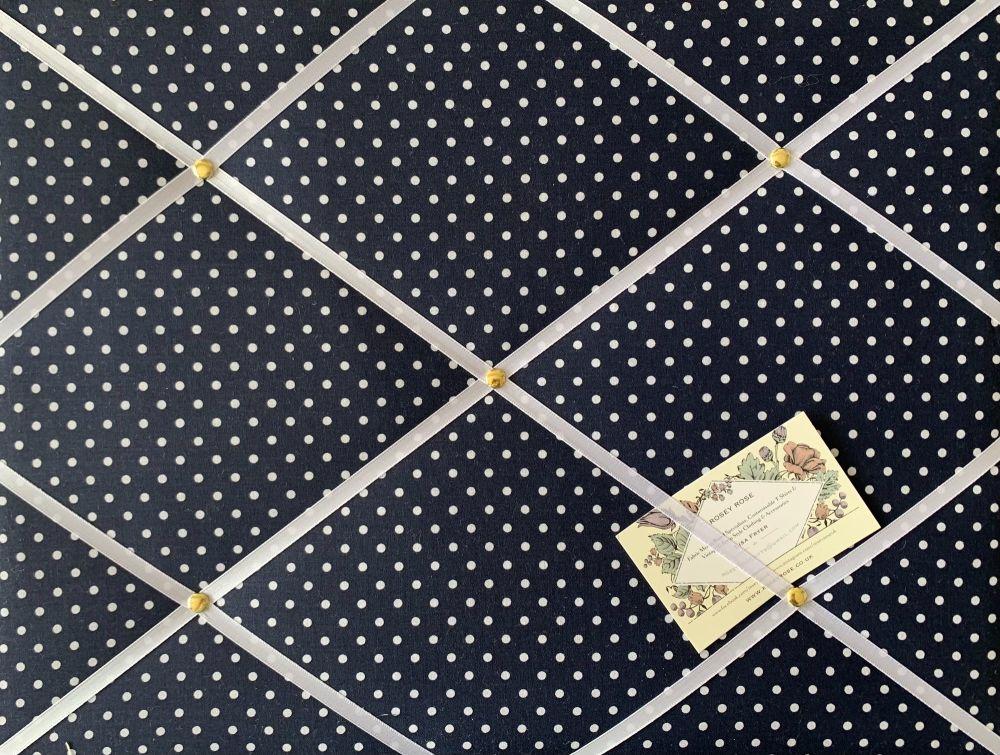 Custom Handmade Bespoke Fabric Pin Memo Notice Photo Cork Memo Board With N